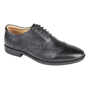 Jipes Mens Superlight Brogue Oxford sapatos