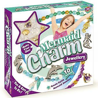 Řemeslo Box Mořská panna Charm Šperky Kit