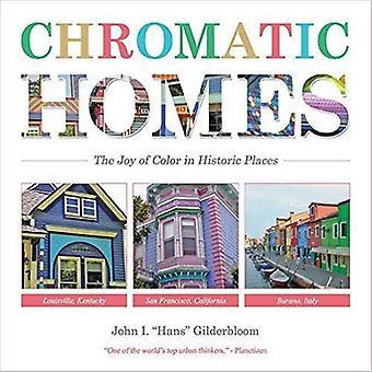 Maisons de chromatiques - la joie de la couleur dans les lieux patrimoniaux par CDM chromatique