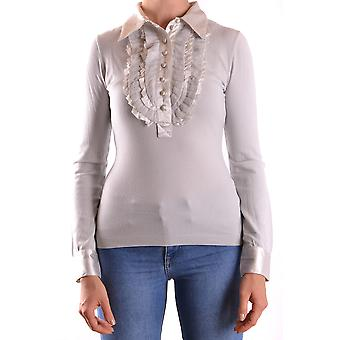 Apenas Cavalli Ezbc141033 Women's Grey Modal Sweater