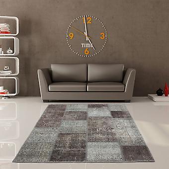 Teppiche - Wirrwarr Patchwork - 560 Silber