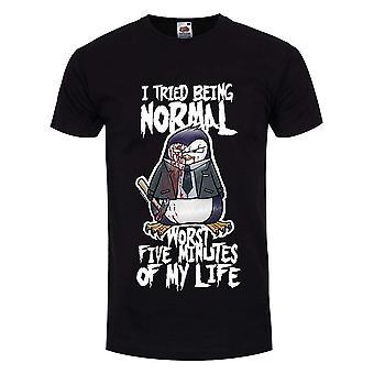 Psycho Penguin mens he intentado ser normal camiseta