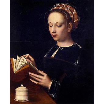 Maria Magdalena Reading, Ambrosius Benson, 50x40cm