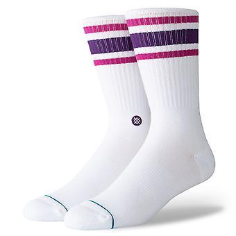 Stance Ungewöhnliche Feststoffe Herren Socken - Boyd 4 lila (Größe L)