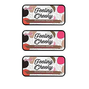 Barry M 3 X Barry M Feeling Cheeky Sculpting Palette