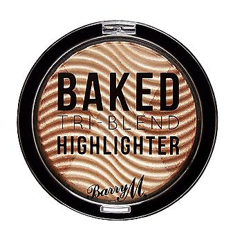 Barry M Baked Tri-Blend Highlighters - Bronze Déco