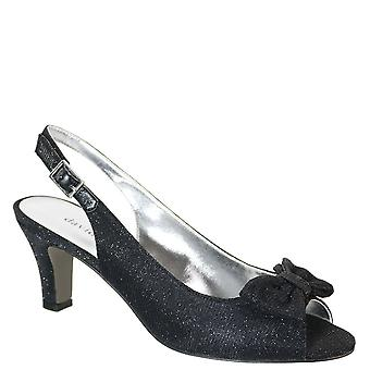 David Tate Womens Spirit Open Toe Ankle Strap Classic Pumps