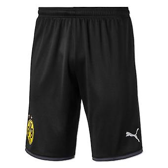 2019-2020 Borussia Dortmund Away Puma Shorts (Black) - Kids