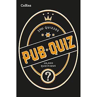 Collins pub quiz: 10.000 eenvoudige, middelgrote en moeilijke vragen