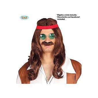 Parrucche uomini Hippie Uomini's Parrucca