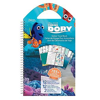 Sticker Travel Book - Disney - Finding Dory - Toys Decals New st4523 New st4523