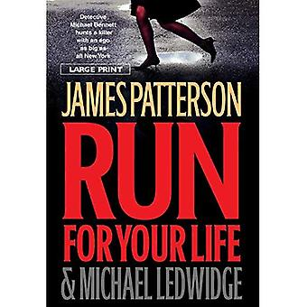 Run for Your Life (Michael Bennett) [Large Print]