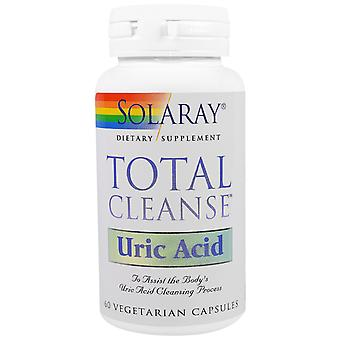 Solaray Total Cleanse Uric Acid, 60 tablets