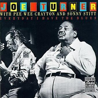 Big Joe Turner-varje dag jag har Blues [CD] USA import