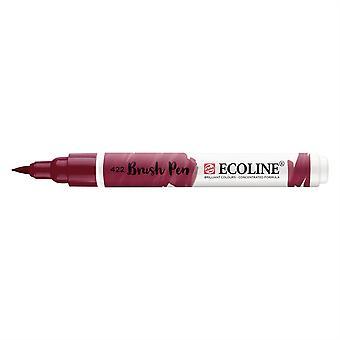 Talens Ecoline Liquid Watercolour Brush Pen - 422 Reddish Brown