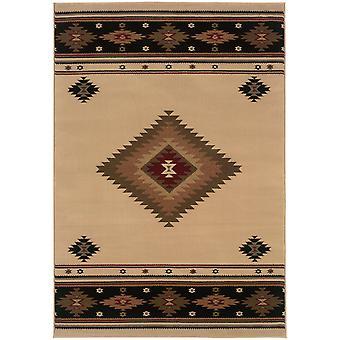 Hudson 087i1 beige/green indoor area rug rectangle 7'8