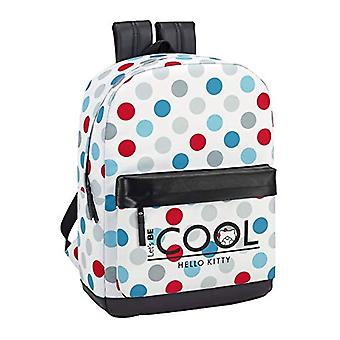 Hello Kitty 2018 Casual Backpack - 43 cm - 19 liters - White (Blanco)