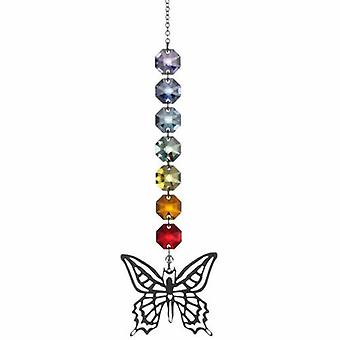 Butterfly Radiance Crystal 26cm