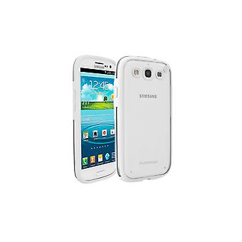 PureGear Slim Shell Carrying Case for Samsung Galaxy S3 - Coconut Jelly