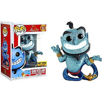 Aladdin Genie with Lamp Diamond Glitter US Pop! Vinyl