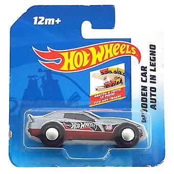 Hot Wheels Houten Auto Assorti