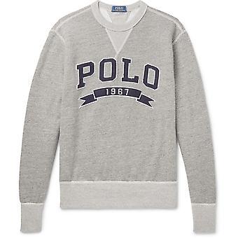 Sweatshirt brodé logo
