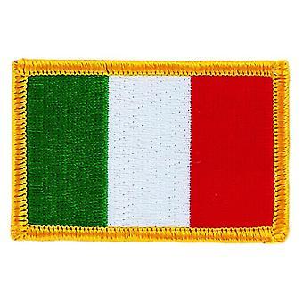 Laastari Ecusson Brode Flag Italia Italia Italia lippu Thermocollant Blason