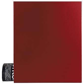 MOCAVI Box 111 Boîte aux lettres design avec compartiment de journal rubis-rouge (RAL 3003)