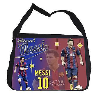 Messi Barcelona Messenger schooltas
