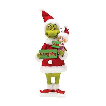 Dr. Seuss The Grinch Naughty or Nice Figurine