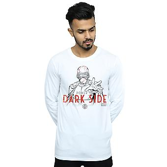 Star Wars Men's The Rise Of Skywalker Dark Side Powers camiseta de manga larga