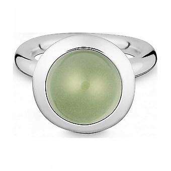 Quinn-zilveren ring met prasiolite-021894635