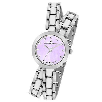 Christian Van Sant Women's Spiral Lavander MOP Dial Watch - CV5611
