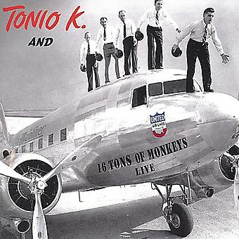 Tonio K. - 16 Tons of Monkeys [CD] USA import