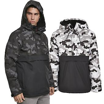 Urban Classics - PADDED PULL OVER winter jacket camo