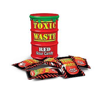 Myrkyllistä jätettä hazardously punainen rumpu hapan karkkia