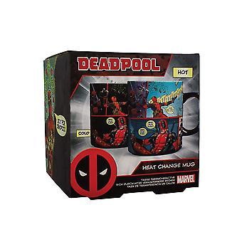 Deadpool Heat Change Mug Gaming Merchandise