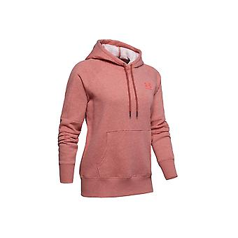 Under Armour rival fleece LC logo nyhed hoodie 1348552-692 dame sweatshirt