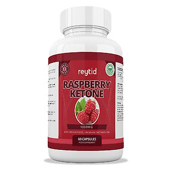 REYTID 100% Pure Raspberry Ketones Premium PLUS | Natural Weight Loss Supplement, Appetite Suppressant & Fat Burner | UK Company & GMP Certified | 60 Capsules