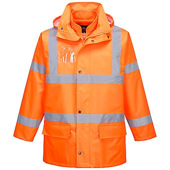 sUw - Hi-Vis Safety Workwear Essential 5-in-1 Chaqueta - Naranja - Grande