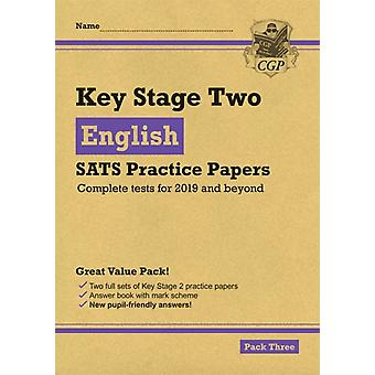 New KS2 English SATS Practice Papers Pack 3 for the tests