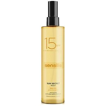 Sensilis Sun Secret Protective Body Oil Spf 15