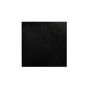 Culpitt Square Black Cake Board - 16