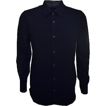 Ted Baker Mens Piccadi Navy Blue Shirt