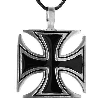 Pendant 110 iron cross - tin