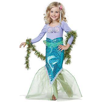 Magische Meerjungfrau kleine Prinzessin Ariel Geschichte Buch Woche Kleinkind Mädchen Kostüm
