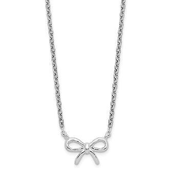 925 στερλίνα ασημένια πλώρη κολιέ 16 ιντσών κοσμήματα δώρα για τις γυναίκες-2,3 γραμμάρια