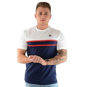Fila Lm181k97 Baldi Cut & Naai Half Sleeve T-shirt - Wit