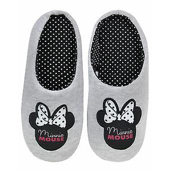 Disney Minnie Mouse Kobiety&s Dom Slip-on Kapcie w kolorze szarym