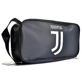 Juventus FC Crest Black Boot Bag